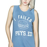 I Failed Phys. Ed Tank