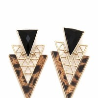 cut-out-triangle-earrings GOLDLEO - GoJane.com