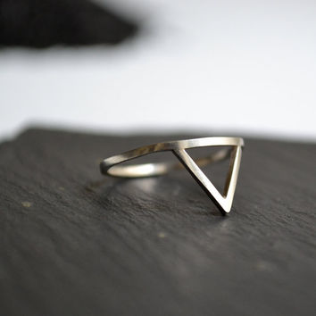 Montagne silver ring, freeshippingfrance