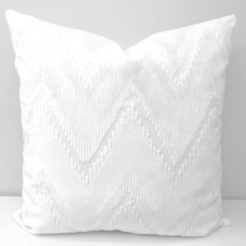 Ivory Velvet Pillow Cover, Velvet Pillow, Ivory Pillow, Velvet Cushion Covers, Ivory Throw Pillows, Couch Sofa Pillow, Velvet Pillow Covers