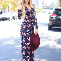 Find Me In Floral Maxi