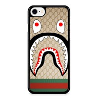 Bape Shark Pattern 7 iPhone 8 Case
