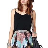Nasty Gal It's a Trip Shorts