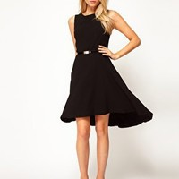 Oasis High Low Hem Dress at asos.com