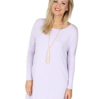 Ocean Drive Tunic in Lavender | Monday Dress Boutique