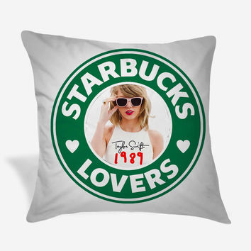 Taylor Swift Starbuck Lovers Pillow Case