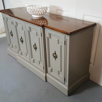 Buffet / credenza / sideboard / TV stand / cabinet / two tone