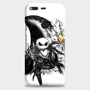The Nightmare Before Christmas Smiley Google Pixel Case