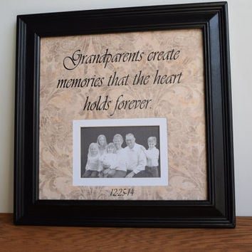 Gifts for Grandparents, Grandma Frame Gift, Grandpa Frame Gift, Grandparent Frame, Nana Gift, Papa Gift,  Grandmother Gift, Grandfather Gift