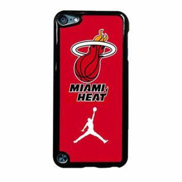 DCKL9 Miami Heat With Nike Jordan iPod Touch 5th Generation Case