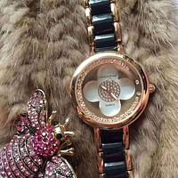 Louis Vuitton Women Fashion Quartz Movement Watch Wristwatch