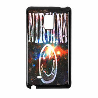 Nirvana Wood Sign Art Galaxy Samsung Galaxy Note Edge Case