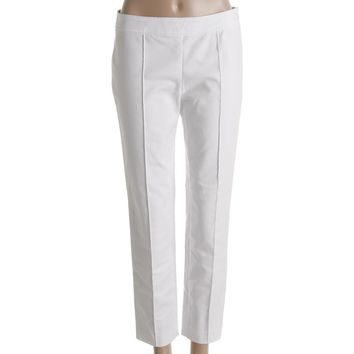 Lauren Ralph Lauren Womens Crop Pleated Cropped Pants