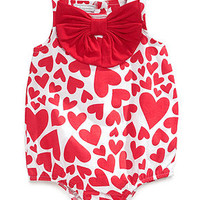 First Impressions Baby Girls' Printed Sunsuit