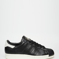 adidas Originals Superstar 80's All Over Black Sneakers
