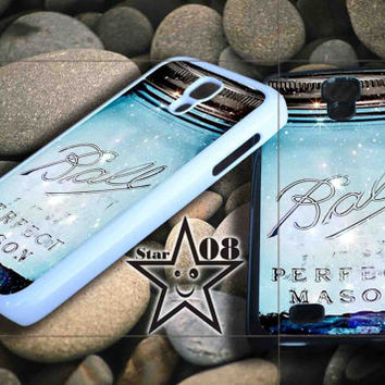 mason jar iPhone Case, iPhone 4/4S, 5/5S, 5c, Samsung S3, S4 Case, Hard Plastic and Rubber Case By Dsign Star 08