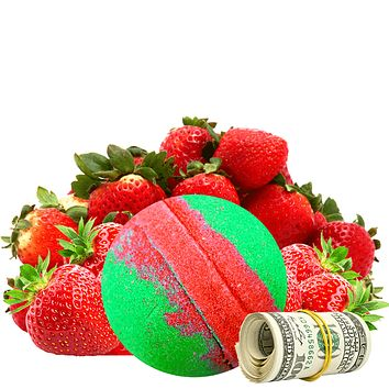 Strawberry Fields Cash Bath Bomb®
