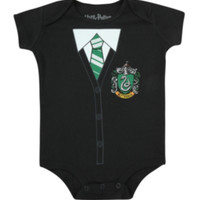Harry Potter Slytherin Baby Bodysuit