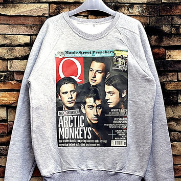 Arctic Monkeys Sweatshirt Crewneck Sweater Unisex