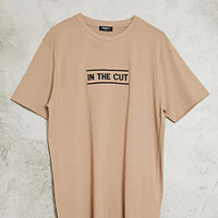 Embroidered In The Cut Tee
