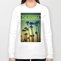 CALIFORNIA Long Sleeve T-shirt by RichCaspian