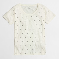 Factory fleur de lis collector tee : short sleeve | J.Crew Factory