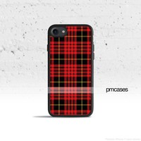 Plaid Red Phone Case Cover for Apple iPhone iPod Samsung Galaxy S & Note