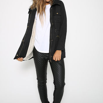 Oh Lola Jacket - Black