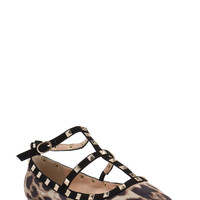 Point Taken Studded Flats