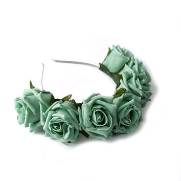 Whole Lotta Rosie Headband - Mint