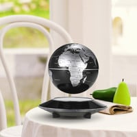 "6"" LED Magnetic Levitation Globe Excellent Desktop Decor Tellurion for Learning Home Decoration"
