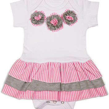 Prima Ballerina Baby Onesuit Dress