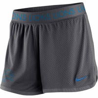 Detroit Lions Nike Women's Ultimate Mesh Shorts – Gray