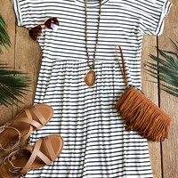 Laura Lee Striped Knit Dress