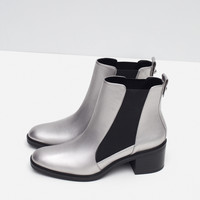 ELASTICATED HIGH HEEL ANKLE BOOTS - View all-SHOES-SALE-WOMAN | ZARA United Kingdom