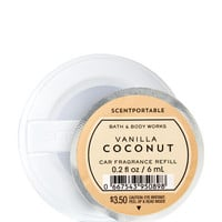 Vanilla Coconut Scentportable Fragrance Refill | Bath And Body Works