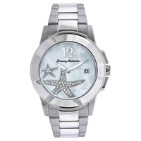 Tommy Bahama TB4045 Women's Bimini Starfish White MOP Dial Stainless Steel Bracelet Watch