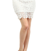 Sweet Lady Day Lace Skirt