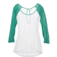 Aerie Colorblock Baseball T | Aerie for American Eagle