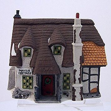 Retired Original Series Dept 56 Heritage Village Cooection Dickens' Village Series Oliver Twist Maylie Cottage