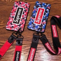 Supreme phone case shell  for iphone 6/6s,iphone 6p/6splus,iphone 7/8,iphone 7p/8plus