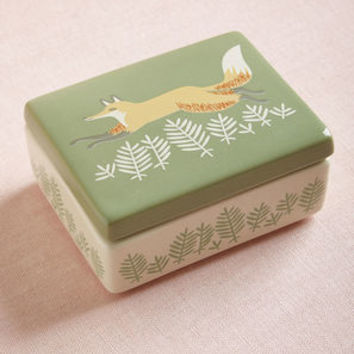 Bend Over Backwoods Ceramic Box