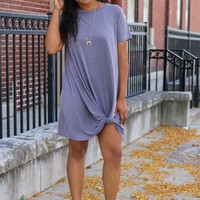Best in Basics Dress - Dolphin
