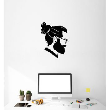 Vinyl Decal Wall Sticker Decor Hipster Fashion Barbershop Office Style (g034)