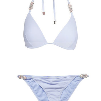 Julie Jewel Bikini Set, River Island