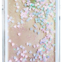GLITTER HOLOGRAM WATERFALL IPHONE CASE