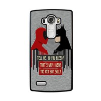 DEADPOOL VS BATMAN LG G4 Case Cover