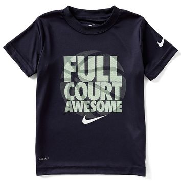 Nike Little Boys 2T-7 Short-Sleeve Full Court Awesome Tee | Dillards