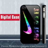 Just Do It Nike Sparkle iphone 4 case iphone 5 case by DIGITALCASE