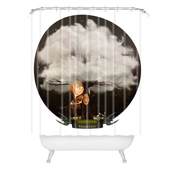 Jose Luis Guerrero Eternal Love Shower Curtain